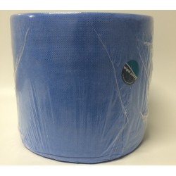 Buntclean blue op rol 38x30cm