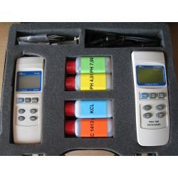 Combiset pH en Geleidbaarheid