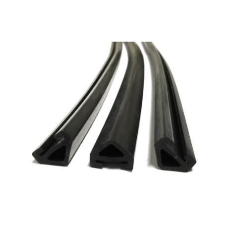 Rubber profiel voor tegendruk wascassette rol á 5 meter